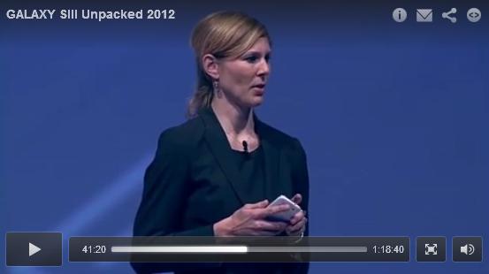 Despre evenimentul de prezentare Samsung Galaxy S3