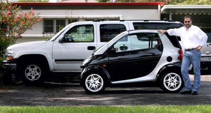 Amuzant: maşinile SMART