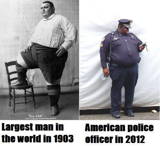 Amuzant: Evoluţia obezităţii