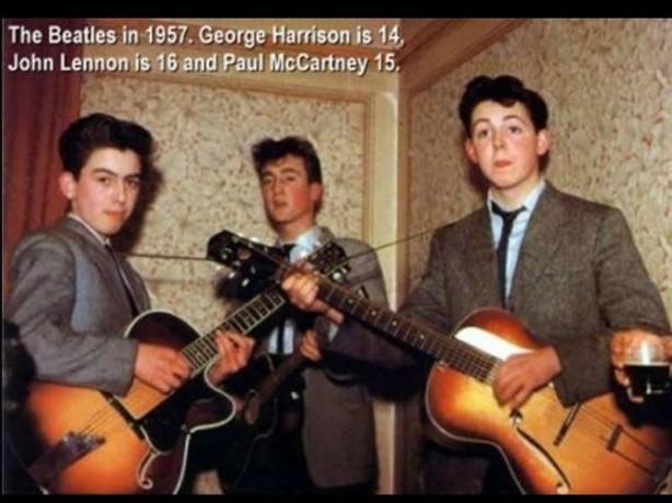 Beatles în adolescenţă