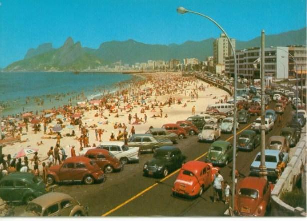 plaja Opacabana din Rio