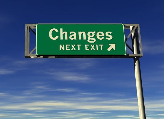 Urmează o nouă schimbare