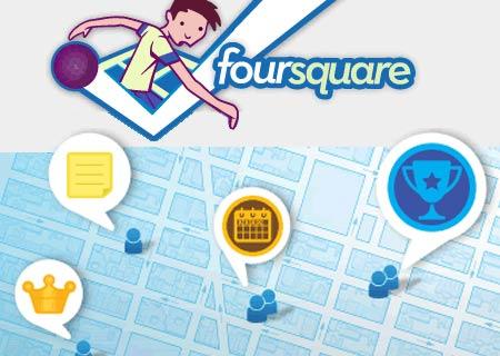 Îmi place foursquare