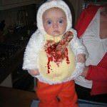 Cel mai tare costum de Halloween pentru bebelusi