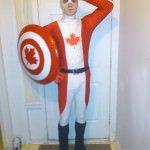Costum Captain Canada de Halloween