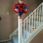 Costum spiderman de Halloween