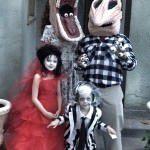Costume Beetlejuice de Halloween