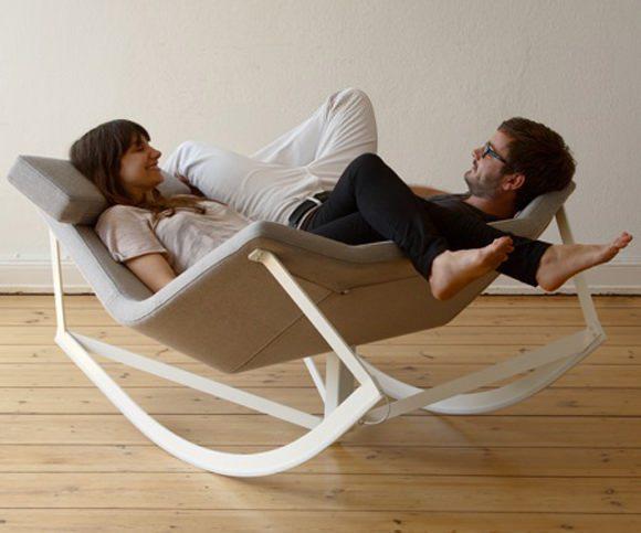 Concept de scaun pentru două persoane