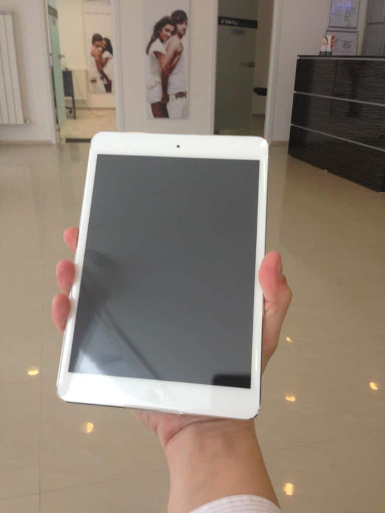 Simpatic iPad Mini ăsta