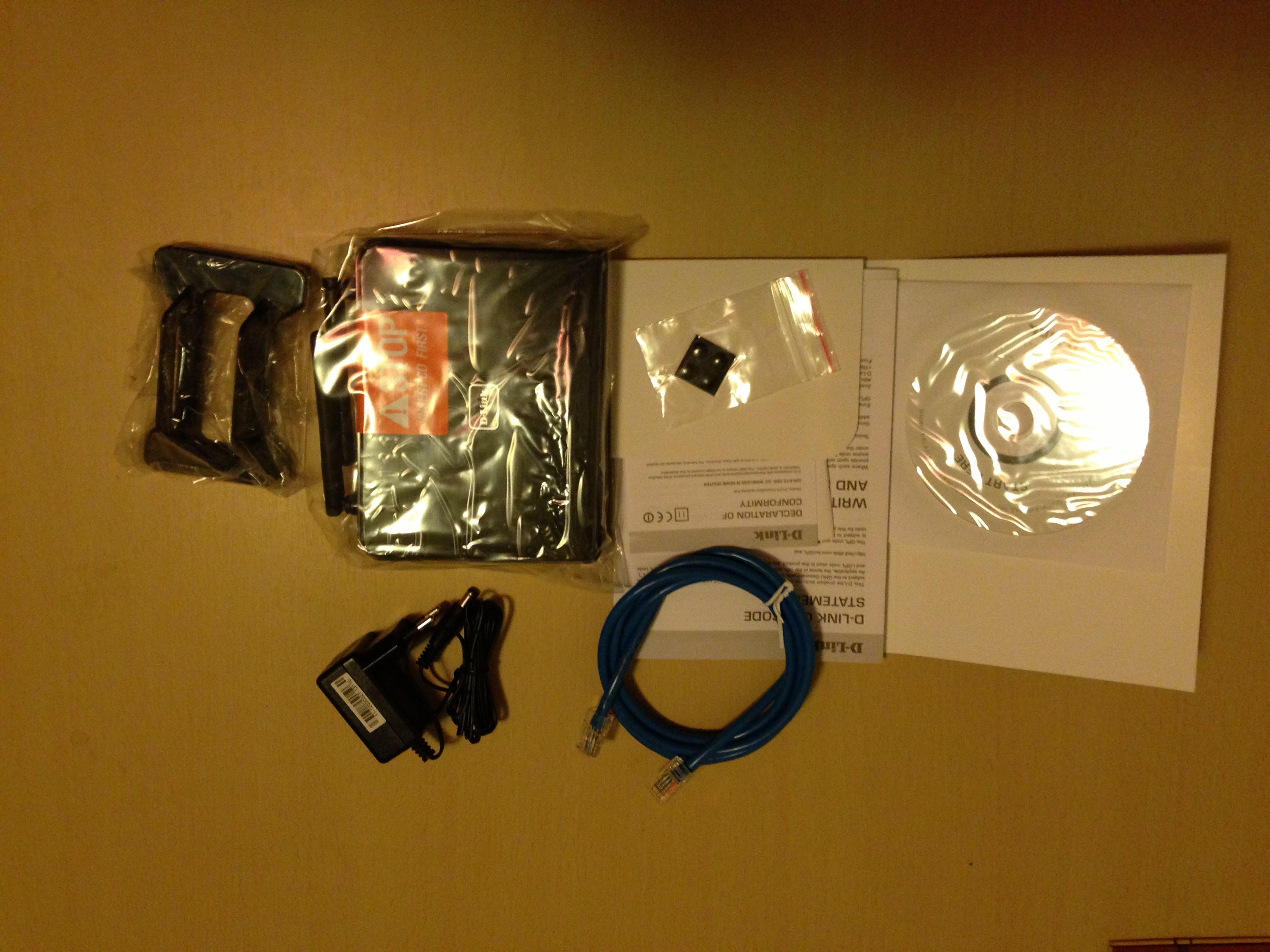Continut pachet d-Link N300