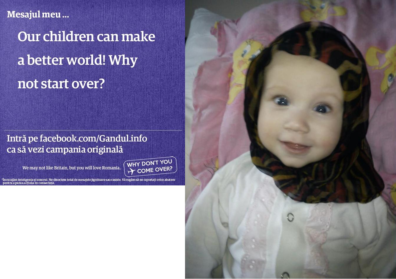 Copii pot face o lume mai buna