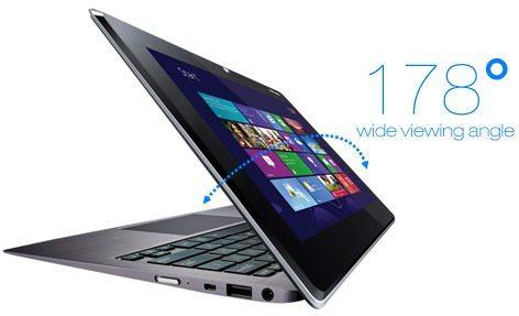 Asus Taichi, laptop şi tabletă