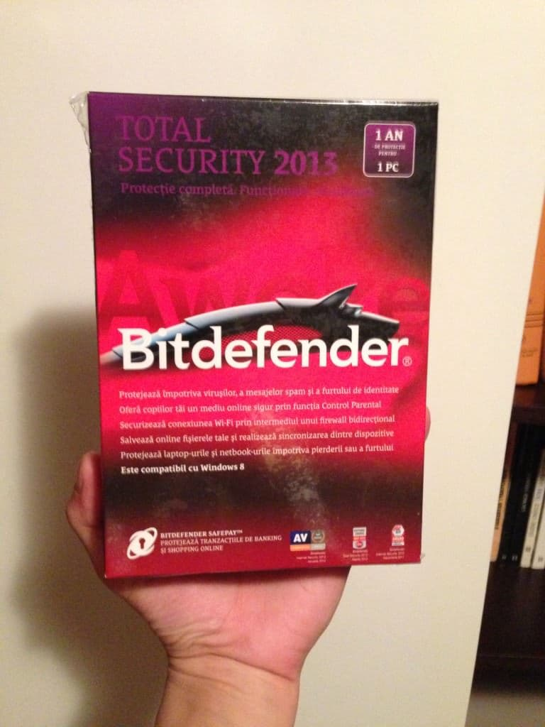 Câștigă o licență BitDefender Total Security 2013