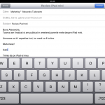 Mail iPad mini 2