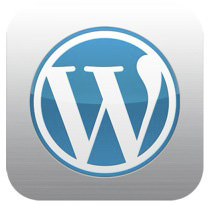 Wordpress iOS icon