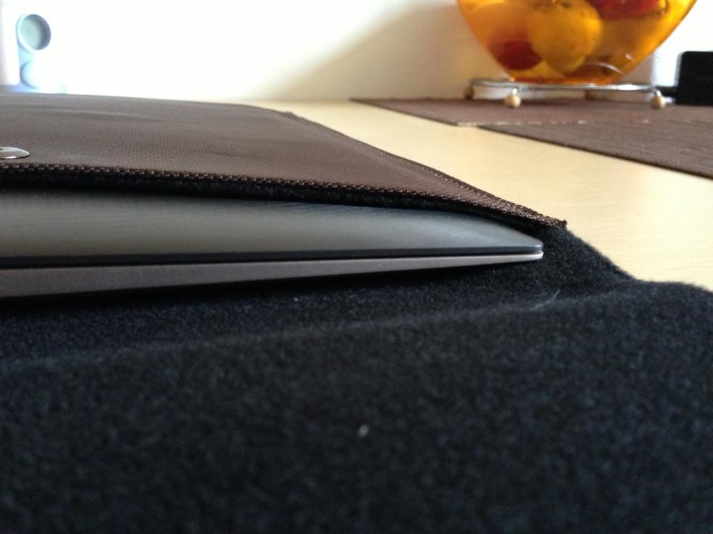 Am Asus ZenBook Touch