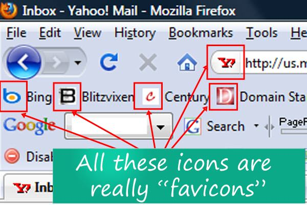 favicon la un blog WordPress