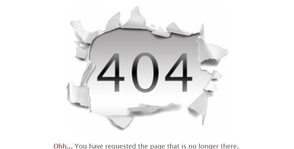 Cum repar 404 page error
