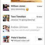 Google Hangouts iPhone 1