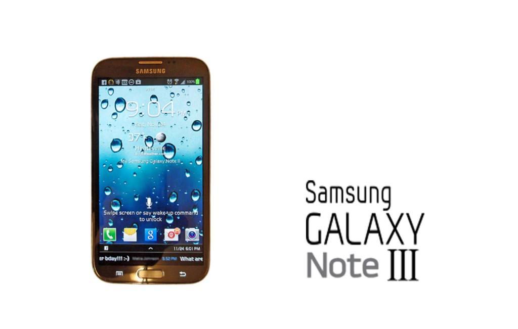 Samsung Galaxy Note 3. Zvonuri și păreri.