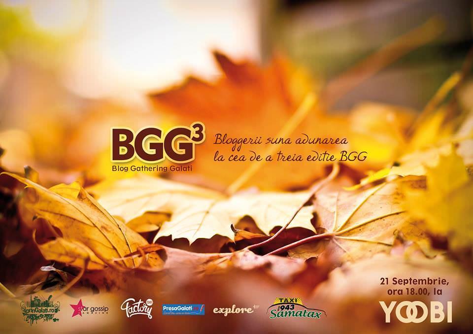 Participă la Galați Blog Gathering 3 (#BGG 3) pe 21 septembrie 2013