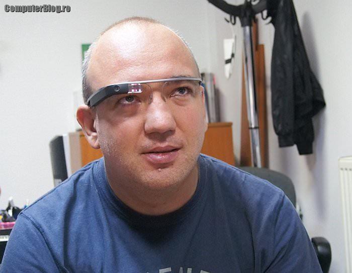 Ochelarii Google au ajuns și în România