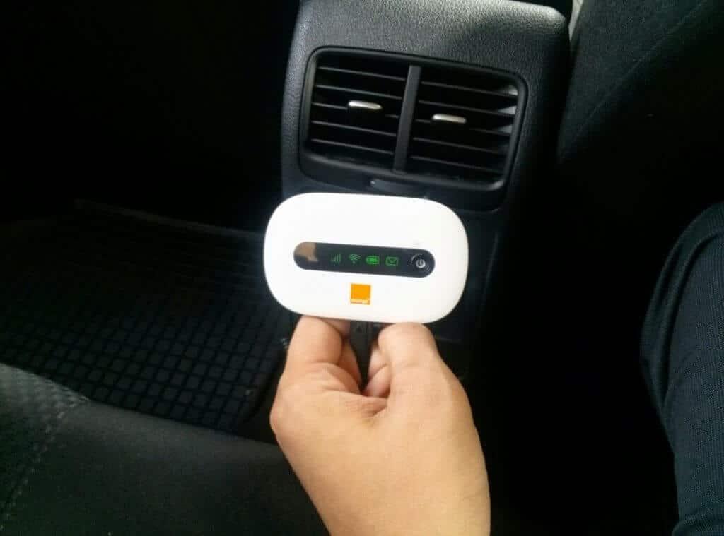 Am găsit o soluție pentru internet wireless în mașină