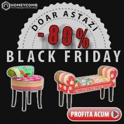 Discounturi de pana la 80% la produse home&deco de Black Friday, de la Homeycomb.ro!