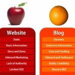 Blog si Website