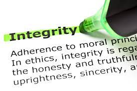 Integritatea o ai sau nu o ai. Restul e can-can.