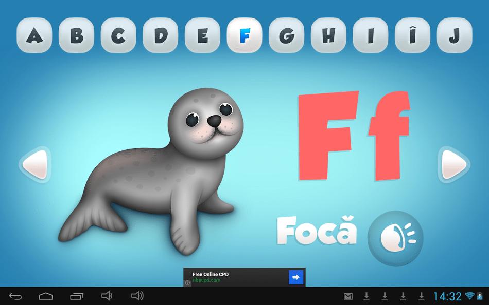 FunABC – alfabetul limbii române pentru cei mici