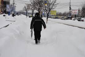Prin zăpadă