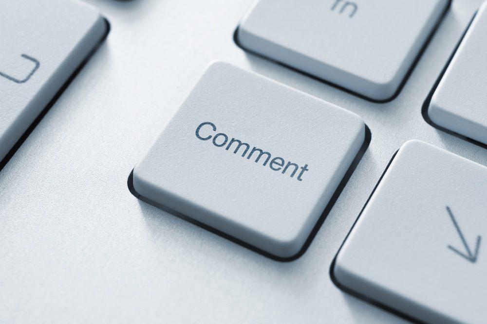 De ce nu am așa multe comentarii pe blog