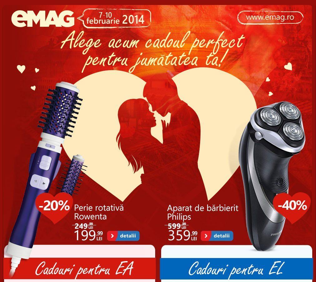 Oferte Valentine eMAG
