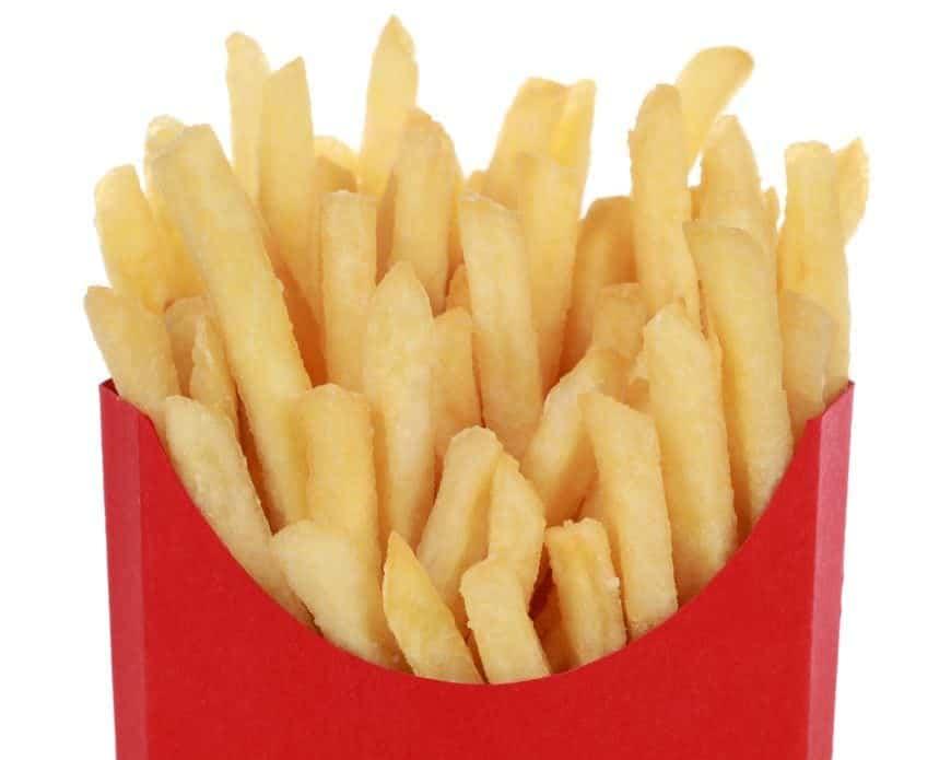 Câte calorii conține o porție de cartofi prăjiți