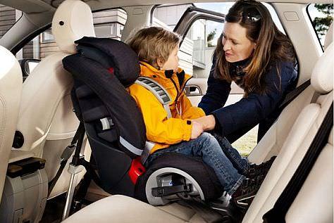 Cel mai sigur loc pentru scaun auto copil