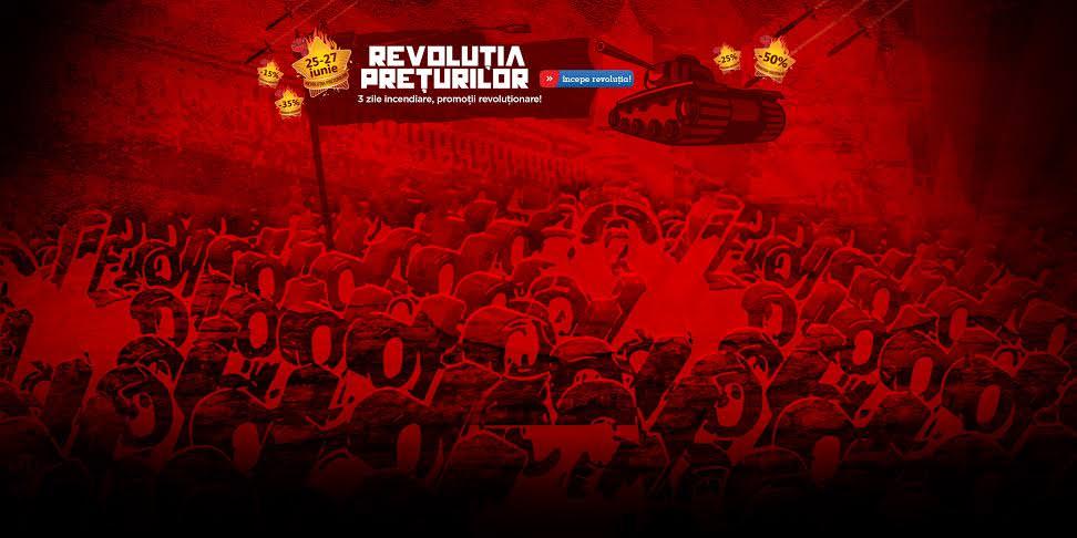 E oficial: A inceput Revolutia!