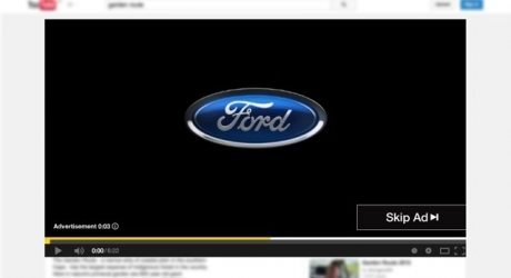 Ford ad seconds
