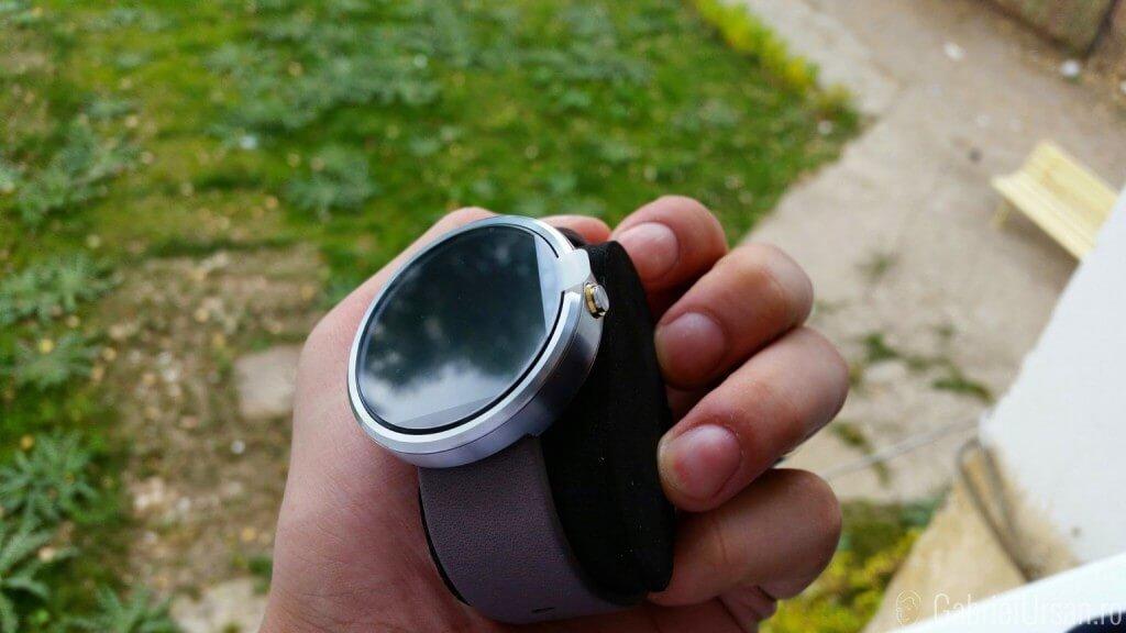 Ceasul Moto 360 cu Android Gear: Momentan mai mult watch decat smartwatch