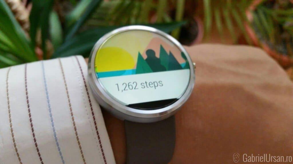 Despre autonomia ceasului cu Android Wear Moto 360