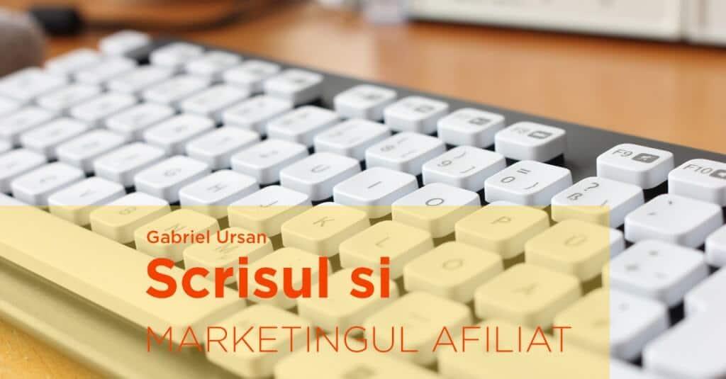 Am scris despre marketingul afiliat pe blogul Profitshare