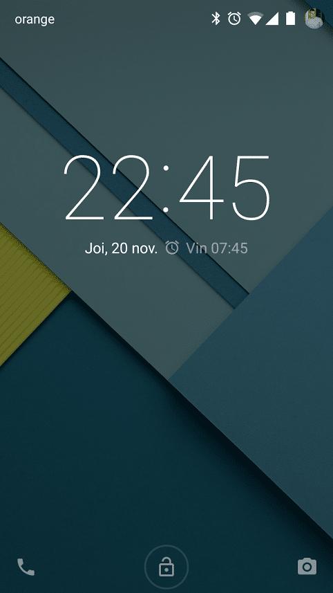 In sfarsit mi-a venit update la Android 5.0