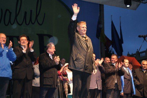Klaus Iohannis vine azi in Galati. Cum va fi primit?
