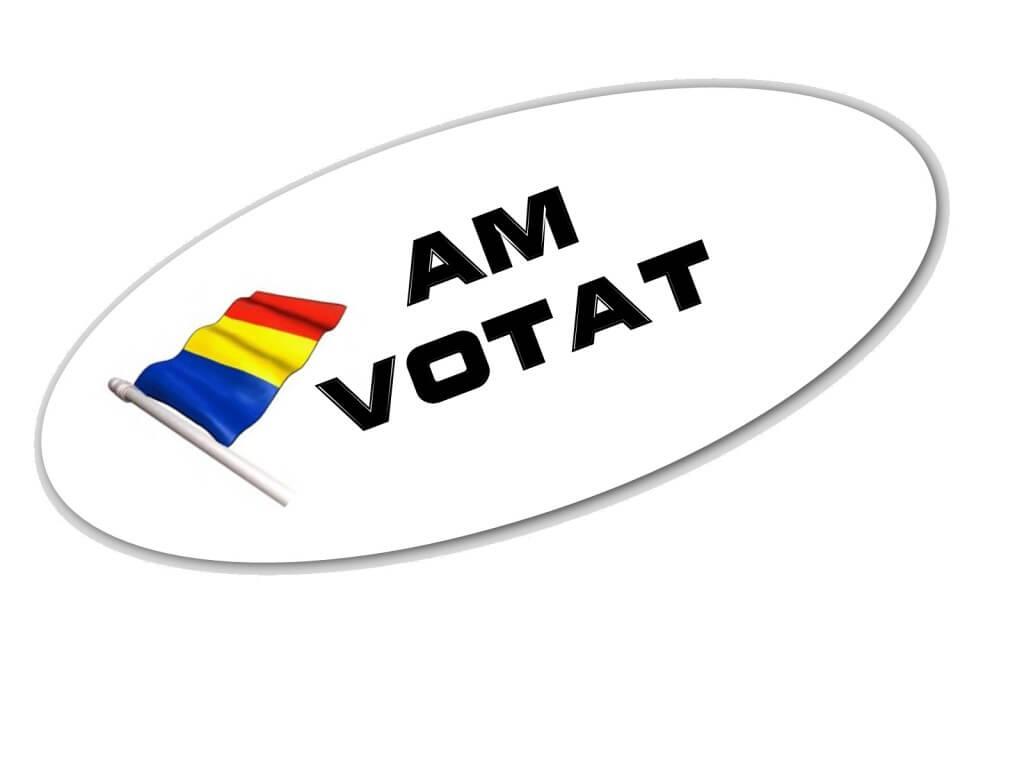 Gata, eu merg la vot si va recomand sa mergeti la vot, sa votati ce vreti, dar sa mergeti!