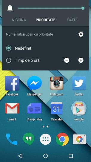 Cum pui pe silent un smartphone cu Android 5.0