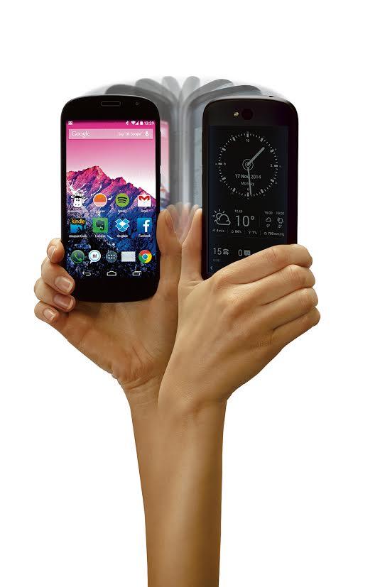 YotaPhone 2, singurul smartphone din lume cu două ecrane, se lansează în  România