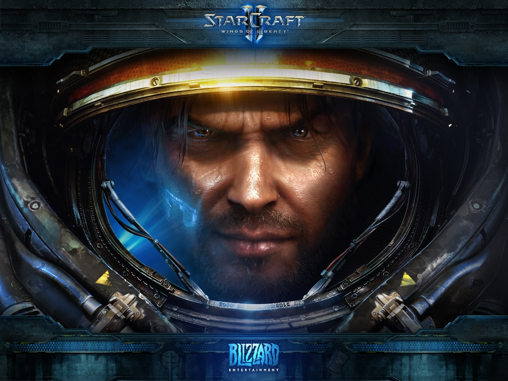 M-am dat pe Starcraft 2