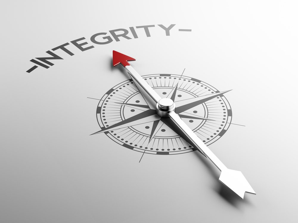 Nu exista un anumit grad de integritate