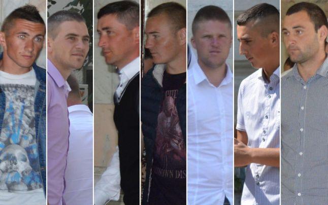 Boicu Ionuţ Bogdan, Burada Silviu, Burlacu Paul, Surleac Ioan, Bolboceanu Petrică, Rotaru Alin Dumitru și Avădanei Silviu