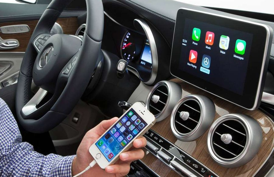 masini apple carplay